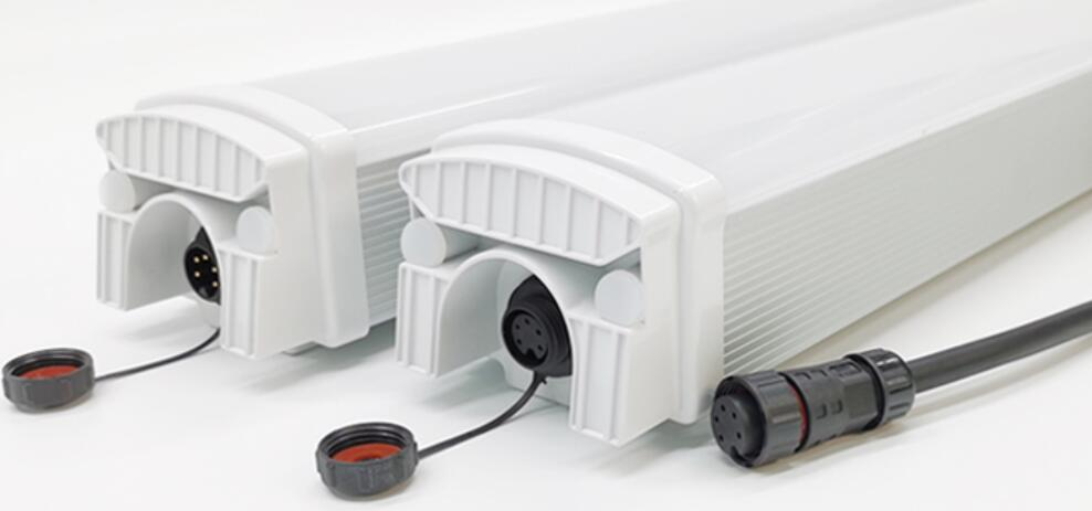 E Series led tri-proof light Male-Female connection