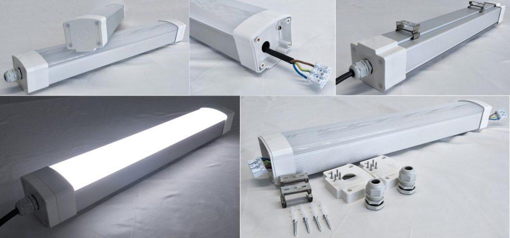 Cold room led tri-proof light